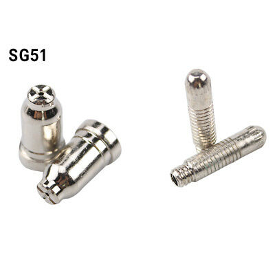 SG51 Plasma Cutter Kits Electrode Nozzles fit SG-51 Torch Consumables 100pcs