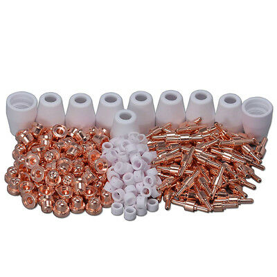 235PCS PT-31 LG-40 Air Plasma Cutter Tips Nozzles Cup Cutting Torch Consumables