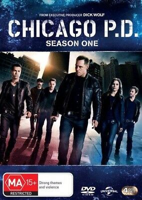 Chicago Pd - Season 1 (Dvd, 2015) 🍿 [Brand New & Sealed]