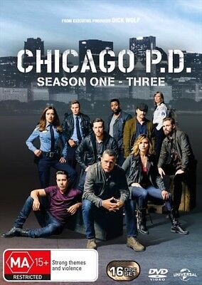 Chicago Pd - Season 1-3  Boxset (Dvd, 2016) 🍿 [Brand New & Sealed]