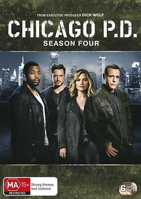Chicago Pd - Season 4 (Dvd, 2017) 🍿 [Brand New & Sealed]