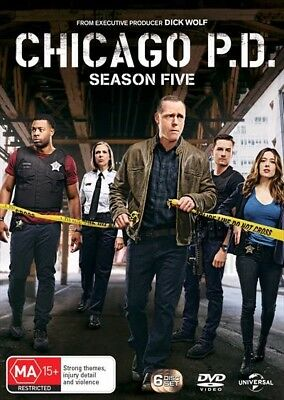 Chicago Pd - Season 5 (Dvd, 2018) 🍿 [Brand New & Sealed]