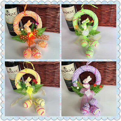 Easter Spring Bunny Party Eggs Egg Rabbit Hanging Ornament  Home Hot Decor Prop