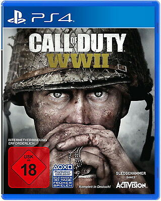 Call of Duty WWII Sony PlayStation 4 *NEU & OVP* deutsch PS4 World War 2 Playsi4