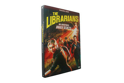 The Librarians Season 4 (DVD, 3-Disc Set) Free Shipping