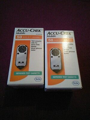 Accu Chek Mobile Cassette 100 Tests Long Expiry Date