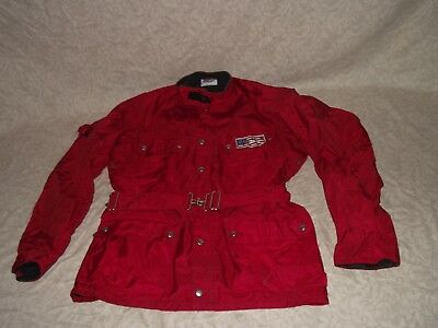 Vintage Malcolm Smith Racing Enduro Motorcycle Jacket (1980's)
