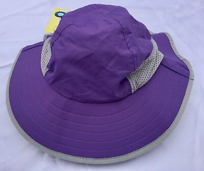 SunDay Afternoons PLAY HAT KID Sun Protection Hat Royal 5-9 years Lg NEW