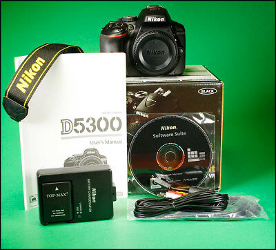 Nikon D5300 DSLR Camera, Sold With Charger, Battery, Manual & Box Only 154 Shots