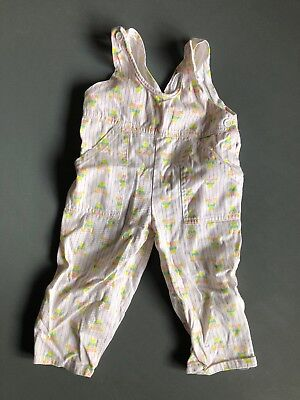 Vintage Baby Dungarees 6-12 Months