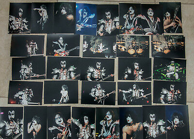 "KISS - PARIS - PYCHO CIRCUS TOUR 1999  PHOTO SET  6"" x 4"" Set of 31  (Set 1 )"