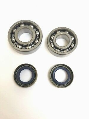 MACHINETEC Main Bearings + Seals  Fits Partner Husqvarna  K750 K760 Cut Off Saw