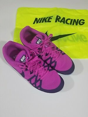outlet store 67ca2 6eb8d Nike Zoom Rival Woman s Track Field Pink Shoes w Spikes Key 806559-505
