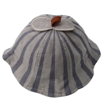 Striped Baby Hat Toddler Girls Mouse Ear Autumn Kids Bucket Girl Sun Hat LH