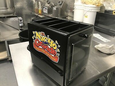 Gold Medal Cheese Cup warmer, El Nacho Grande, Nacho Chips and Cheese