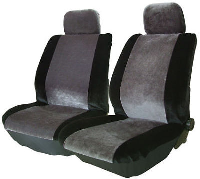 Fiat Ducato 1991-1994 Luxury Velour 1+1 Fabric Soft Front Car Seat Cover