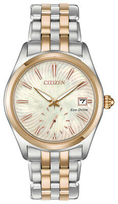 Citizen Eco-Drive Corso Women's EV1036-51Y Two-Tone 36mm Watch