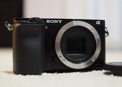 Sony alpha a6000 24MP Mirrorless Camera (Body Only)