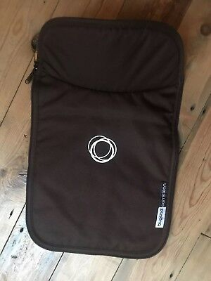 Bugaboo Cameleon 1 2 3 brown canvas carrycot apron. Immaculate