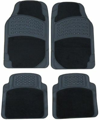 Hobby750 Lhd Motorhome Premium Luxury Heavy Duty Rubber & Carpet Car Mats Set