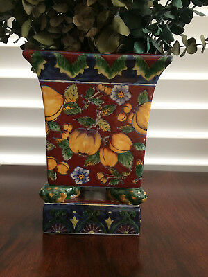 Chinese Double Footed Ceramic Vase