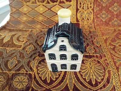 KLM Blue Delft house #5 sealed with contents--no date-see info