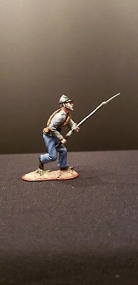 """St. Petersburg 54mm metal foot """"C.S.A."""" charging with rifle!"""