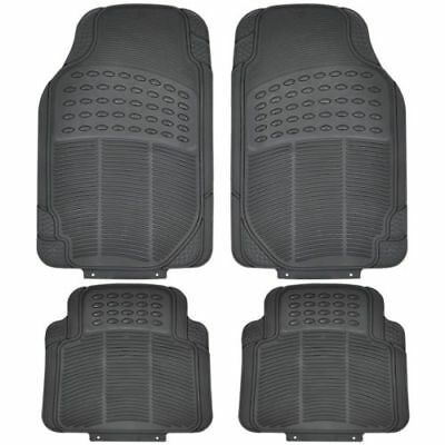 Peugeot Bipper 2008 Luxury Heavy Duty Black Rubber Car Mat Set Non Slip Grip