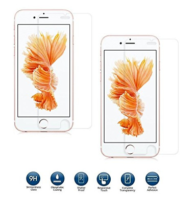 Invero® 2 Pack of Premium 100% Genuine Clear 0.26mm 3D Touch Compatible Tempered