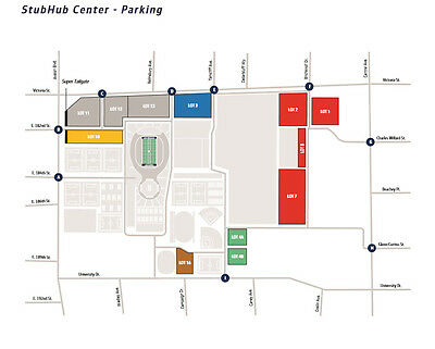 1 Baltimore Ravens vs Los Angeles Chargers 12/23 Red Lot Reserved Parking Pass