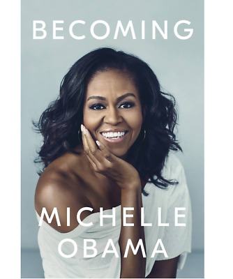 Becoming by Michelle Obama (New Hardcover Book – 2018) - TWO DAY SHIPPING !