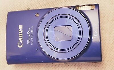 Canon Powershot Elph 190 Is Digital Camera Blue 20MP