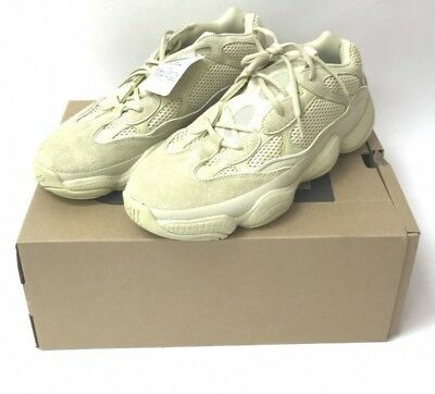 info for 0d9af 846cb 'NWT' ADIDAS SUPER Moon Yellow Authentic Yeezy 500 Sneakers Size:12