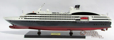 L'Austral Wooden Ship Model Ready to  Display