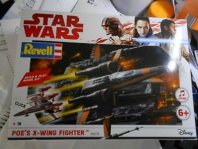 %%  REVELL :  STAR WARS Poe's X-Wing Fighter 06576  NEU OVP