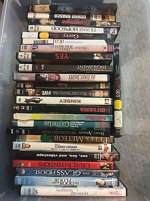 Lot Of 48 Various Themed DVD Movies