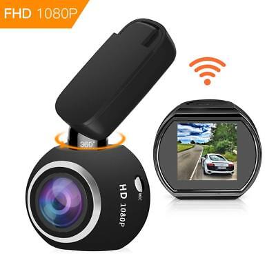 HQBKing WiFi DashCam 1080P Full HD Armaturenbrett Kamera