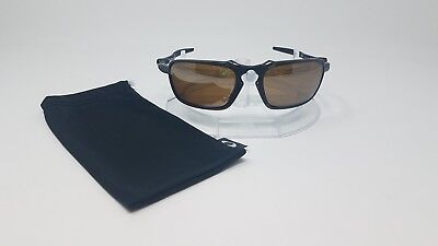 26878d1a91e NEW OAKLEY - Badman - Pewter Frame Tungsten Iridium Polarized Lenses ...