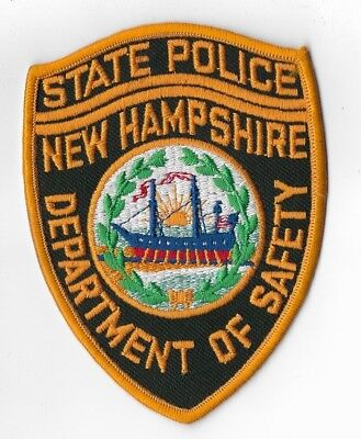 New Hampshire State Police Patch older version