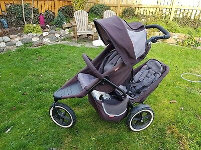 phil&teds Tandem Double Seat Pushchair/Pram + Loads Extras