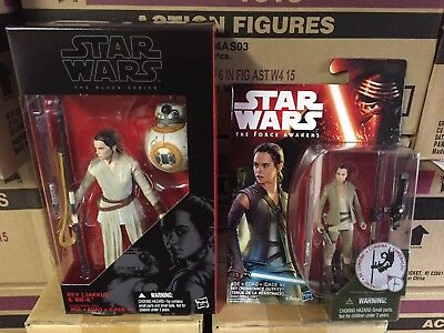 Star Wars: The Force Awakens Rey Resistance Outfit & 6inch Black Series w/ BB-8