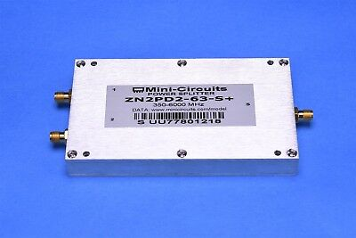Mini-Circuits ZN2PD2-63+ Power Splitter/Combiner 2 Way 50Ω 25W 350 to 6000 MHz