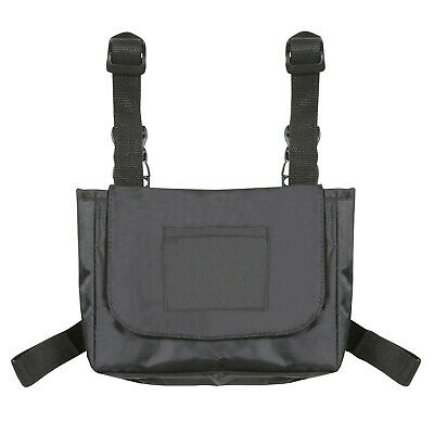 Side Storage Pouch for Walker or Wheelchair - Mobility Aid Accessory Tote Bag