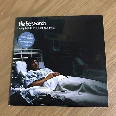 """Research - Lonely Hearts Still Beat - 7"""" - Part 1/2 - UNPLAYED - Discount For 2+"""