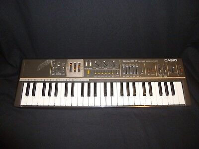 Vintage Casio CASIOTONE MT-68 80's Electronic Synthesizer Keyboard Tested Works