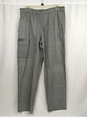 Dickies Chef Pants Unisex Size Large 36 38 womens mens work wear  NWOT