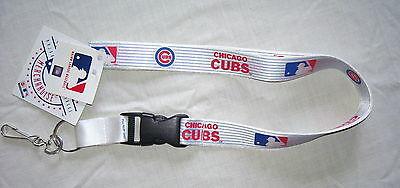 MLB-Chicago Cubs Lanyard with Key Ring