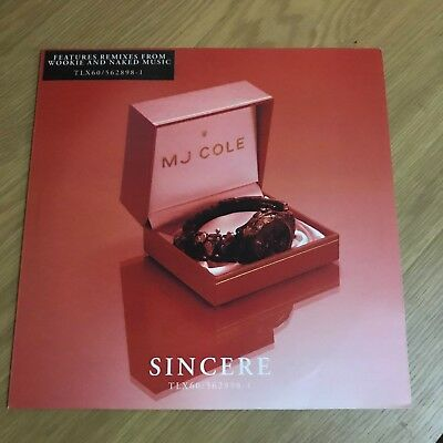 """MJ Cole - Sincere - 12"""" Single - UNPLAYED - Discount For 2+"""