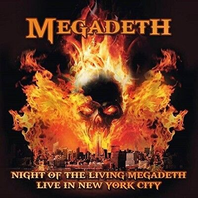 Megadeth - Night Of The Living Megadeth: Live In New York City   Cd Neuf