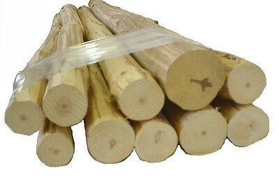 """10- 24"""" Med Furniture Logs, Handpeeled Pine, kiln dried Use your tenon cutter!"""